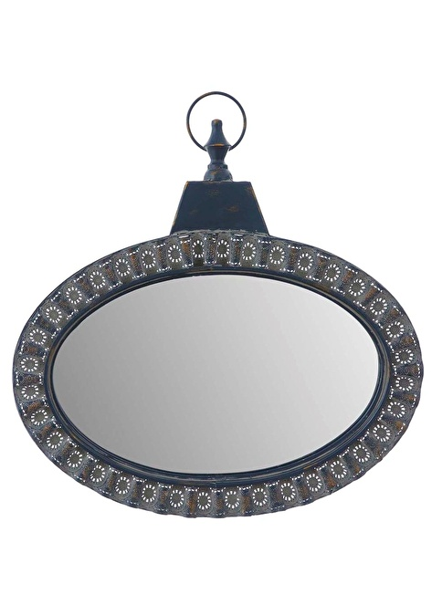 Vitale Metal Kıvrımlı Ayna Renkli